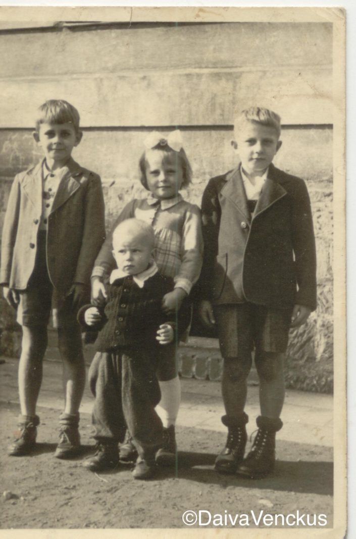 Chapter 3 - Dad and siblings in 1946 in Czechoslovakia