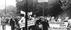 Aug 23, 1987: First Open anti-Soviet Protest