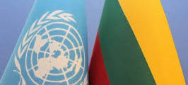 September 17, 1991: Lithuania becomes a member of the United Nations