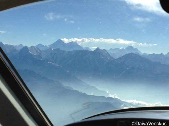 Everest from the Cockpit
