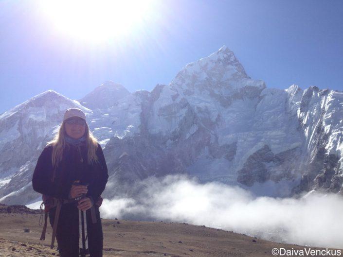 Sun Rise Over Everest