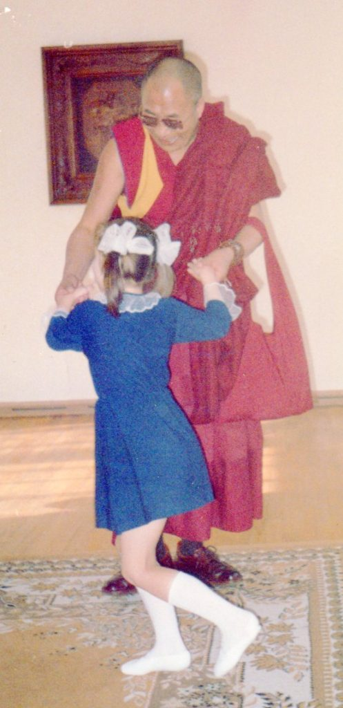 1991 - Dancing with the Dalai Lama