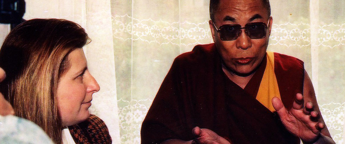 Daiva and the Dalailama