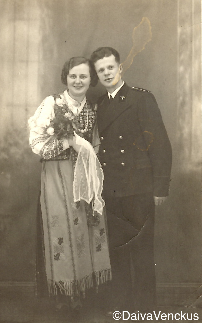 Chapter 2: Kazys and Jadvyga's Wedding in 1938