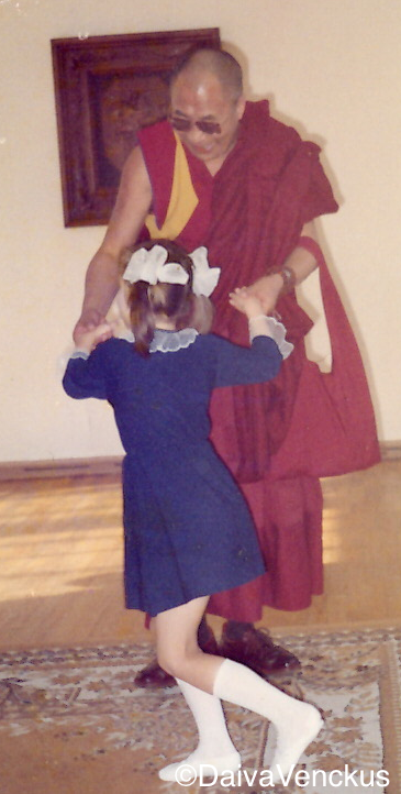 Chapter 40: The Dalai Lama dances at an Orphanage