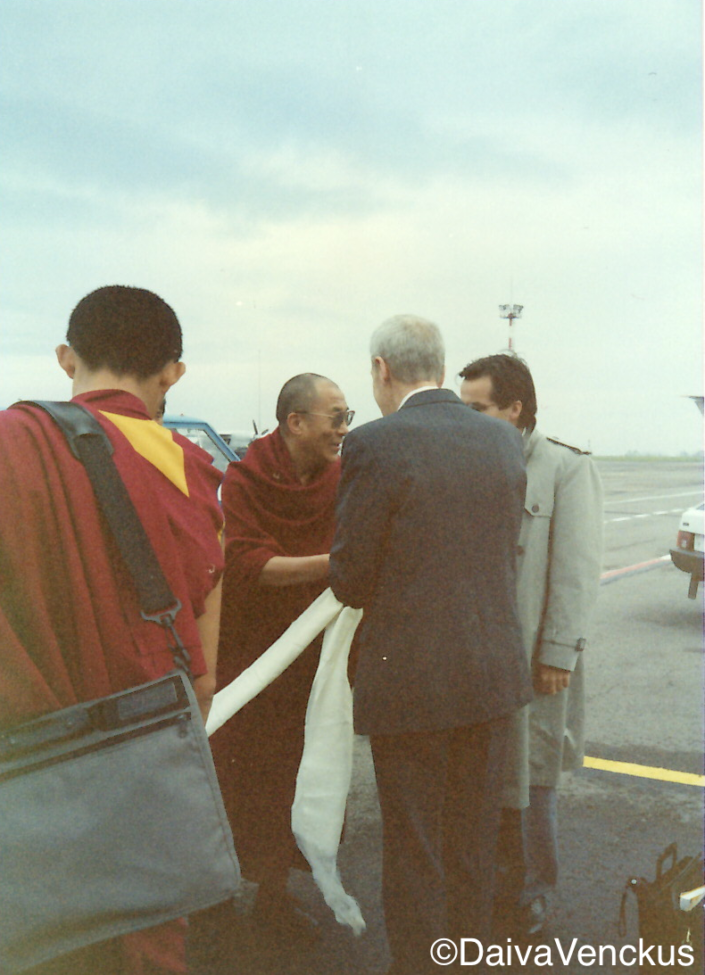 Chapter 40: The Dalai Lama Arrives in Vilnius