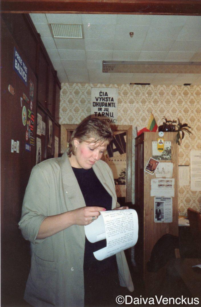 Chapter 24: Rita Dapkus in the InfoBureau