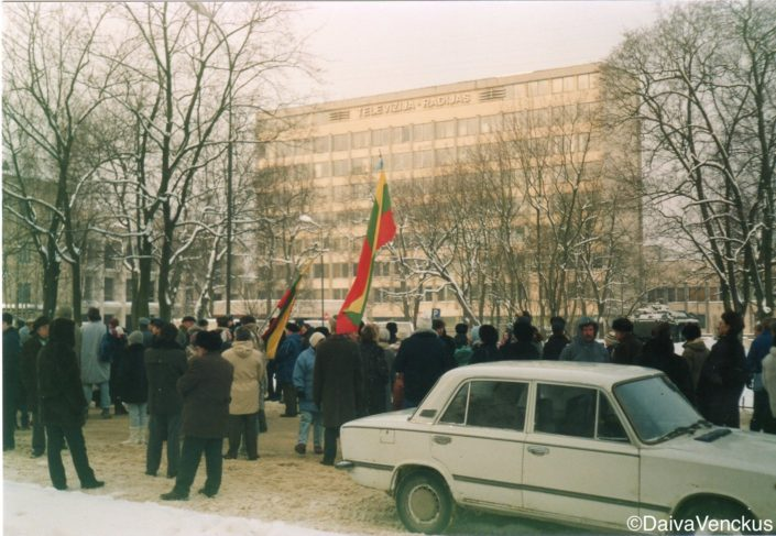 Chapter 19: Demonstration at Soviet Occupied Radio TV Center