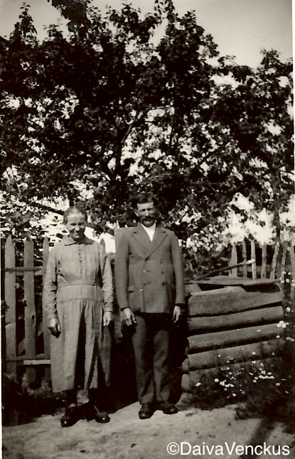 Chapter 4: Grandpa's Parents, Katriutė and Andrius Karuža in 1931
