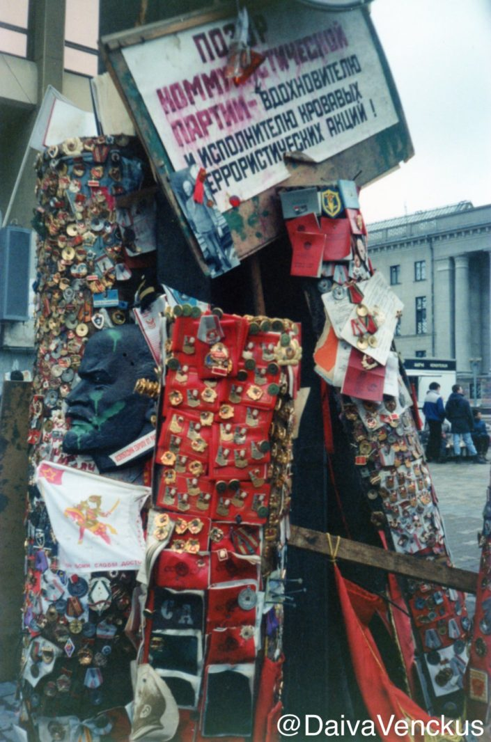Chapter 19: Soviet Medals and Passport Desecrated in Protest