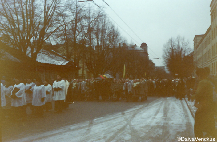 Chapter 16: Funeral in Kaunas for Victim of Soviet Military Attack on January 13