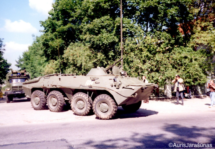 Chapter 38: Soviet Armored Personnel Carriers Withdraw