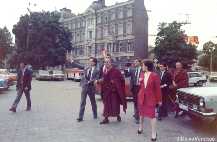 Chapter 40: The Dalai Lama Tours Vilnius