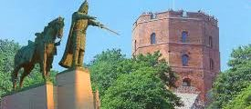 1323: Gediminas Establishes Vilnius, capital of Lithuania