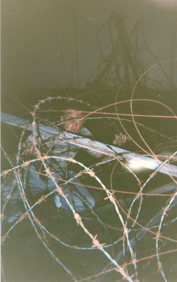 Chapter 24: Barbed Wire on the landing outside of the 4th floor windows (and Simas)