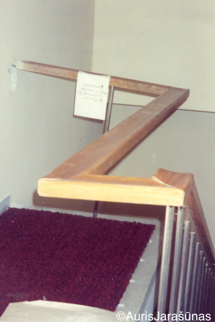 Chapter 24: Stair Railings removed during January 13 to use as a defense weapon since volunteers didn't have guns