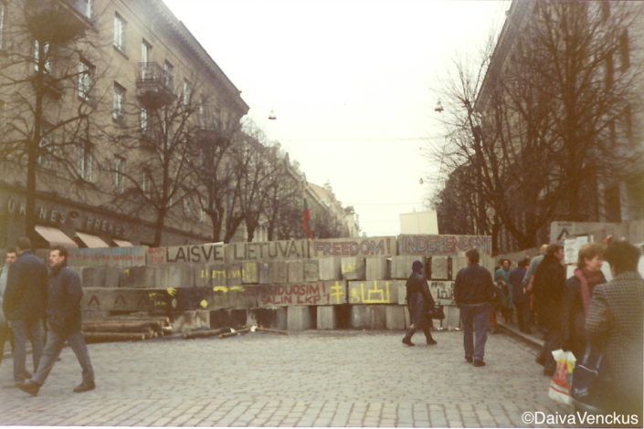 Chapter 19: Barricades on Gediminas Prospect