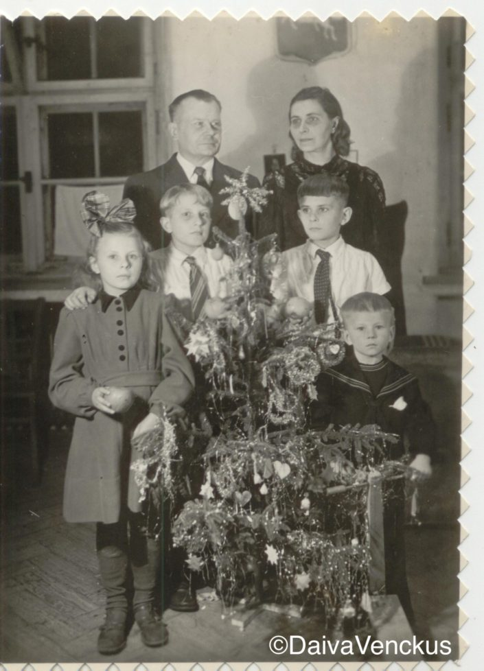 Chapter 3: Venckus Christmas in German Displaced Persons Camp in 1947