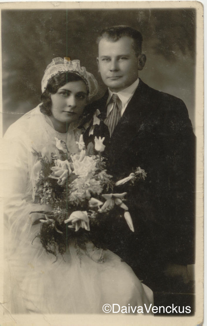 Chapter 3: Grandpa Jonas and Grandma Brone in 1936