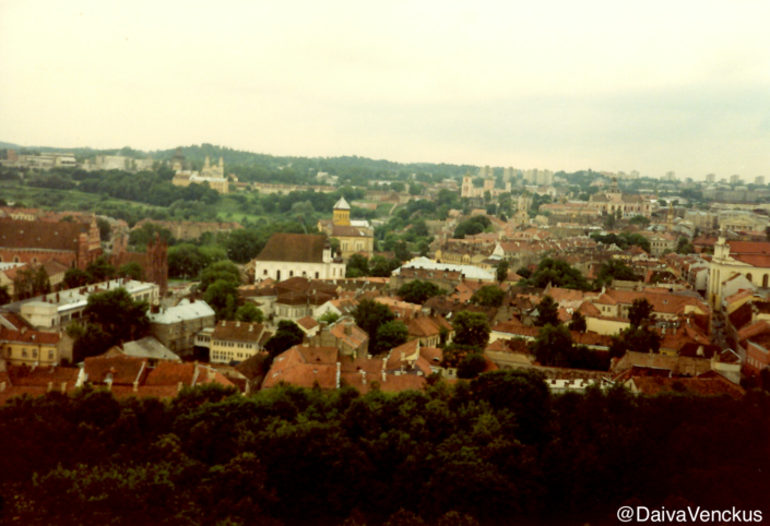 Chapter 13: Vilnius Old Town View