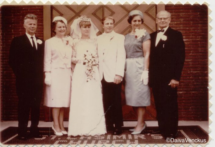 Chapter 3: Mom and Dad's Wedding Day in 1964