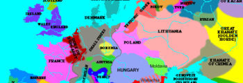 1470: Map of Europe
