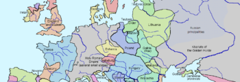 1328: Map of Europe