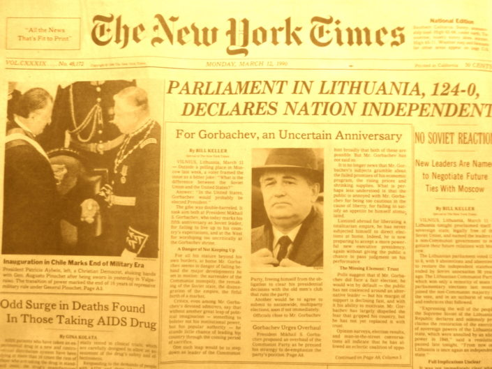 Chapter 14: Lithuania Reestablishes Independence